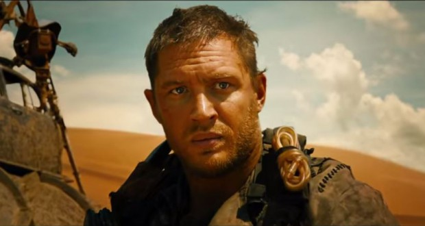 "Tom Hardy w filmie ""Mad Max"" - fot. screen z Youtube"