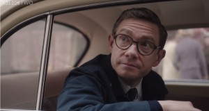 "Martin Freeman w ""The Eichmann Show"" - fot. screen z Youtube"