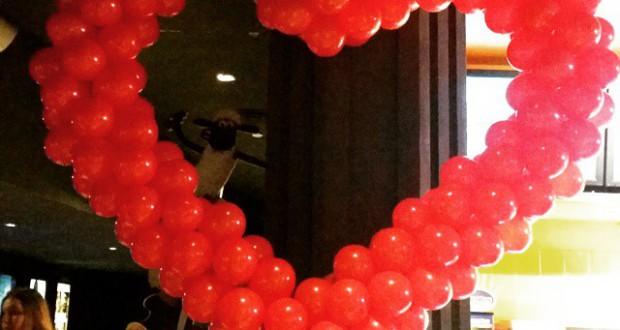 Cinema City Sadyba przygotowało się na Walentynki.