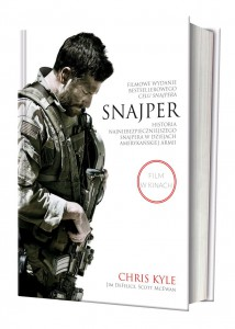 """Snajper"", aut.: Chris Kyle, Jim DeFelice, Scott McEwan - fot. Warner Bros. Polska"