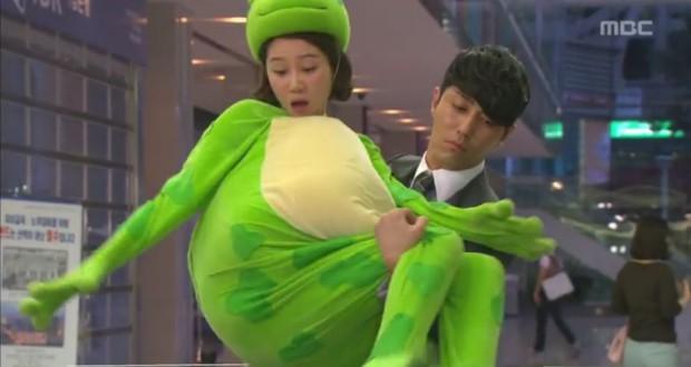 "Cha Seung Won i Gong Hyo Jin w ""The Greatest Love"" - fot. screen z Youtube"