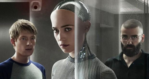 Recenzja filmu Ex Machina z Domhnall Gleeson, Alicia Vikander, Oscar Isaac w roli głównej