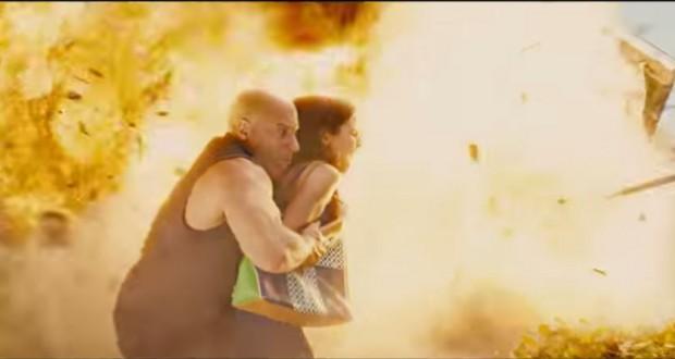 Vin Diesel cudem ratuje się od śmierci w wybuchu zdjęcie z filmu szybcy i wściekli 7