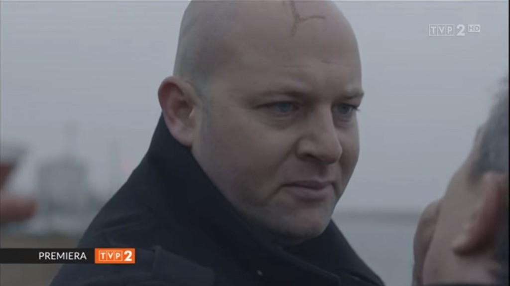 Szymon Bobrowski w serialu Telewizji Polskiej TVP2 Krew z krwi