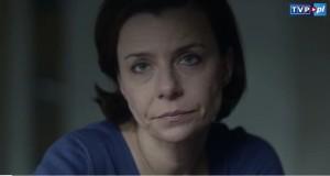 Agata Kulesza w serialu Telewizji Polskiej Krew z krwi, w którym wciela się w rolę Karmen Roty Majewskiej.
