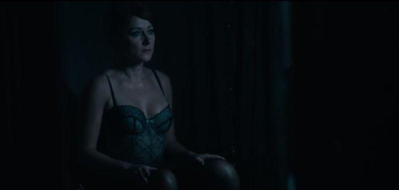 półnaga Sidse Babett Knudsen w filmie The Duke of Burgundy / naked Sidse Babett Knudsen