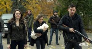 Bohaterowie serialu Between, wspólnej produkcji stacji CIty i Netflix