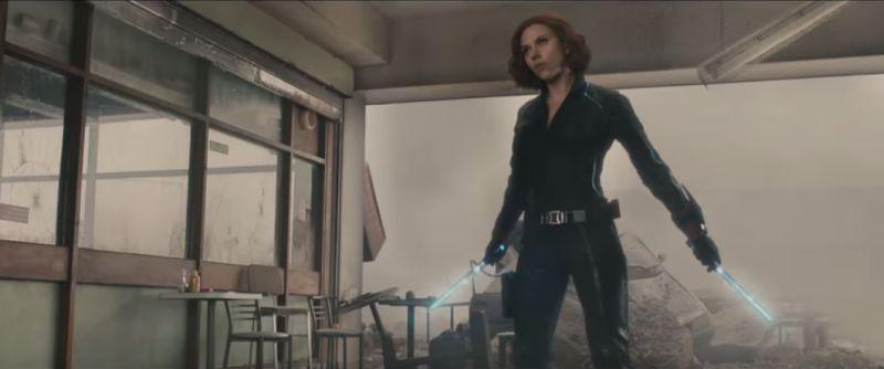 Czarna Wdowa Scarlett Johanson, recenzja Avengers Czas Ultrona