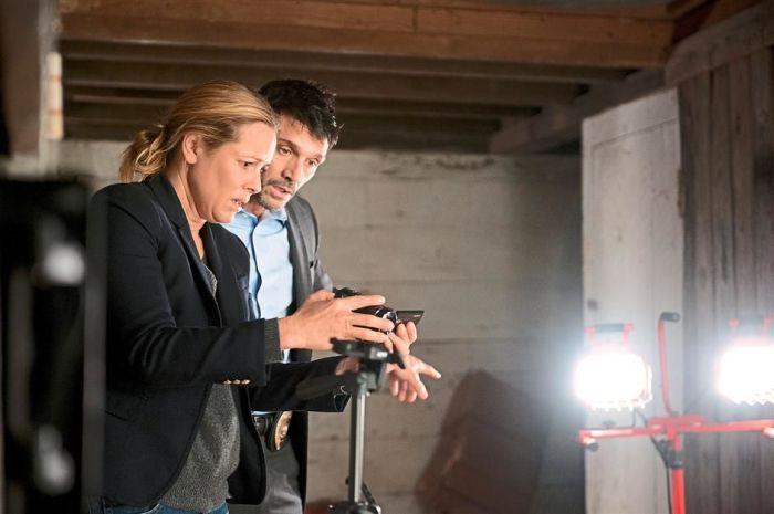Maria Bello i Frank Grillo w horrorze Demonic.