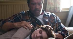 Arnold Schwarzenegger i Abigail Breslin w dramacie Maggie.