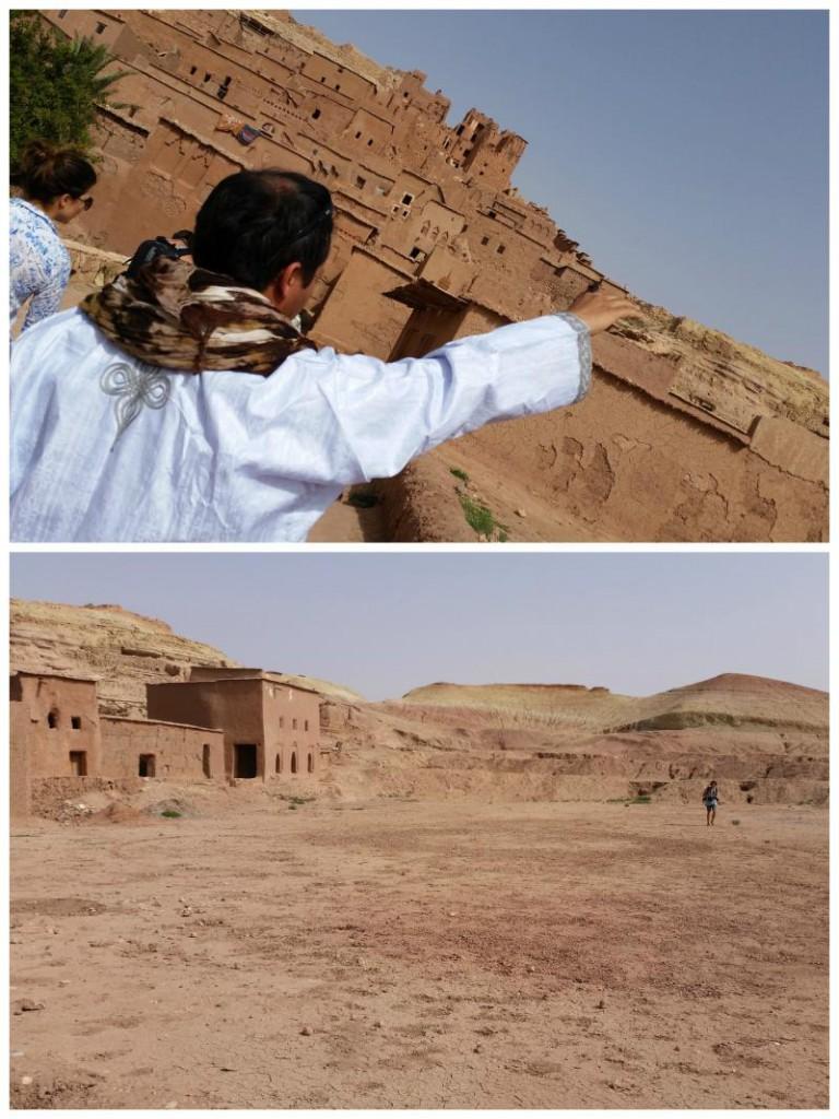 plan filmowy Gladiatora w Maroku