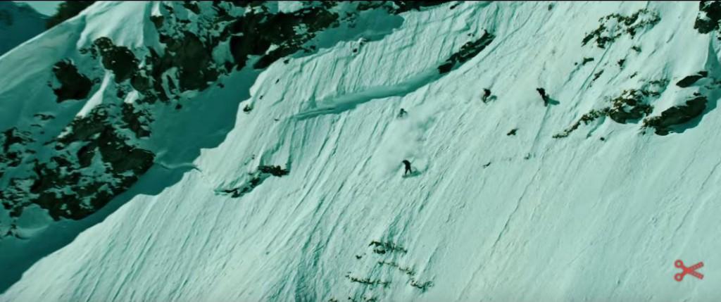 Snowboardowcy w akcji - zwiastun filmu Point Break