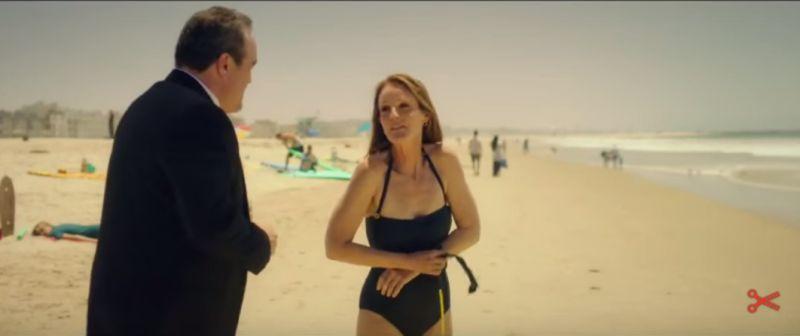 Helen Hunt w bikini, recenzja filmu Ride