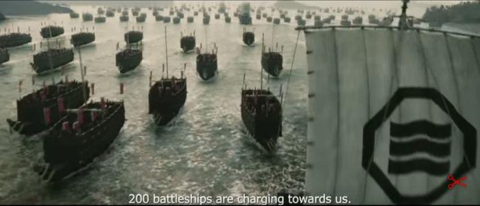 flota japońskich okrętów wojennych, recenzja filmu Admirał