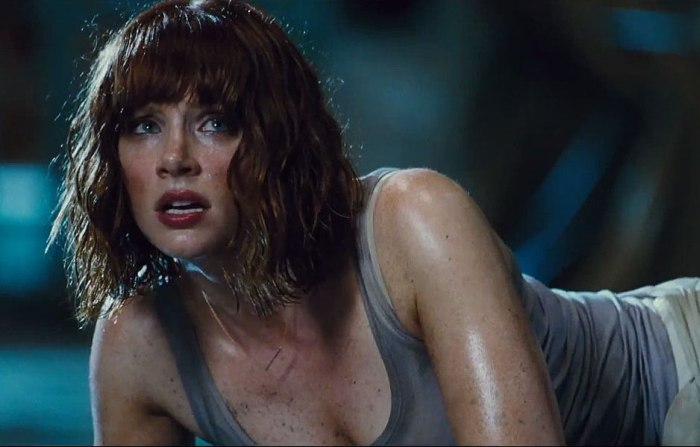 Bryce Dallas Howard w filmie Jurassic World recenzja
