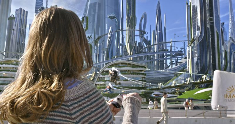 Miasto przyszłości w filmie Kraina jutra Tomorrowland