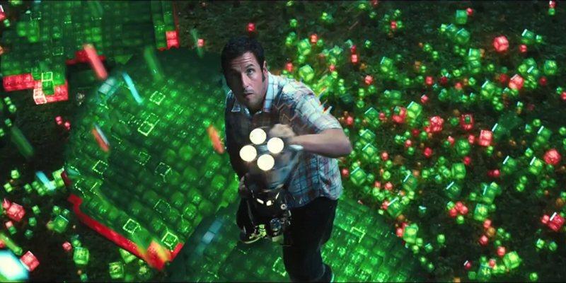 Adam Sandler w filmie Piksele - recenzja