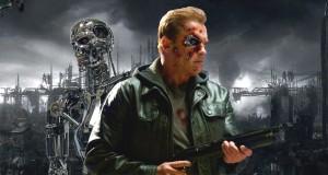 Arnold Schwarzenegger jako Terminator w filmie Terminator Genisys
