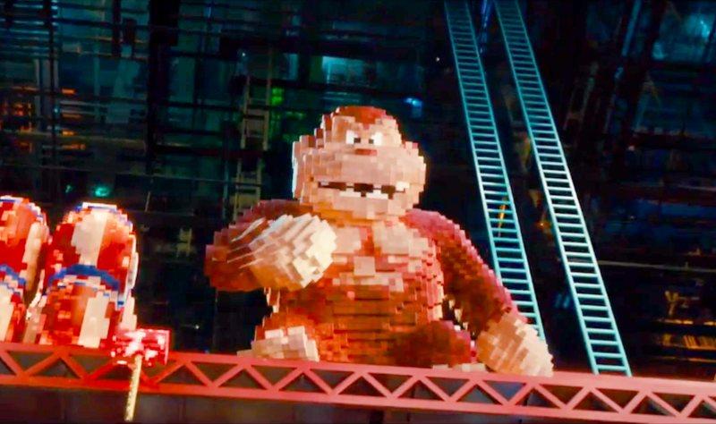 Donkey Kong w filmie Piksele - recenzja