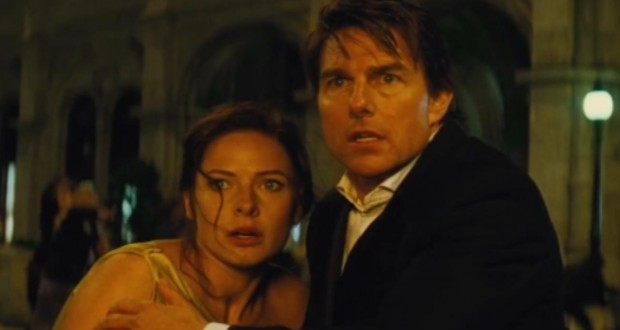 Tom Cruise i Rebecca ferguson - recenzja Mission Impossible: Rogue Nation