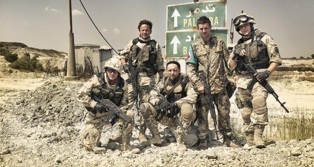 Żołnierze - bohaterowie filmu Karbala