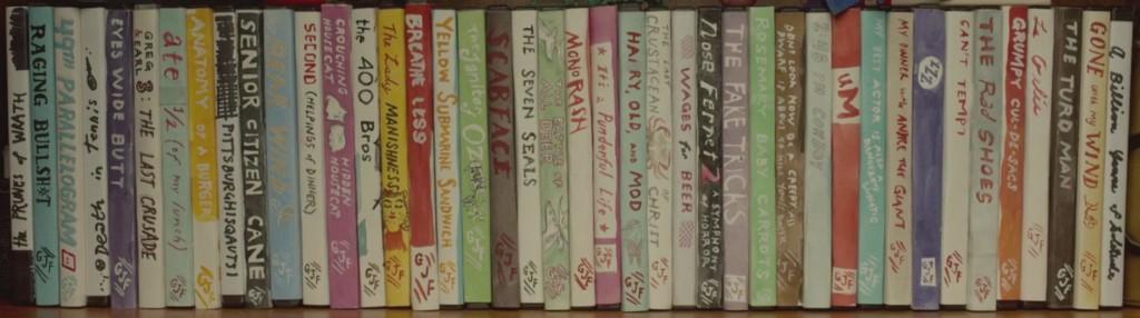 okładki filmów nakręconych przez bohaterów filmu Earl i ja i umierająca dziewczyna
