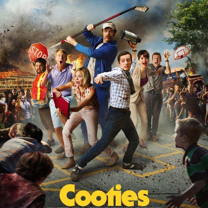 plakat filmu Cooties - recenzja