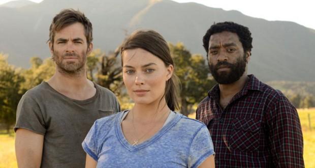 Recenzja filmu Z for Zachariah - bohaterowie filmu Margot Robbie, Chris Pine i Chiwetel Ejiofor.