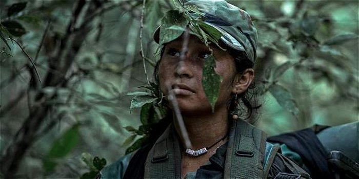 Karen Torres w filmie Alias Maria