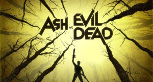 recenzja pilotowego odcinka Ash vs Evil Dead grafika plakat