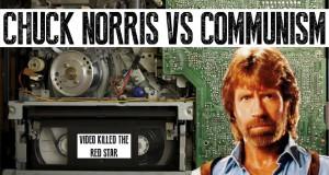Chuck Norris kontra komunizm grafika reklamowa