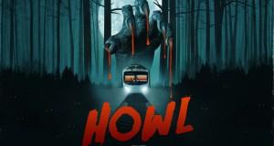 krwawe szpony zaciskają się nad sylwetką pociagu w środku lasu recenzja horroru Howl