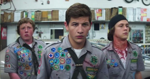 kadr z filmu Scouts Guide to the Zombie Apocalypse
