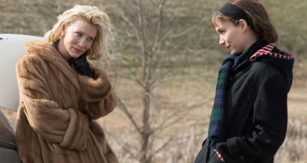 Cate Blanchett i Rooney Mara w filmie Carol