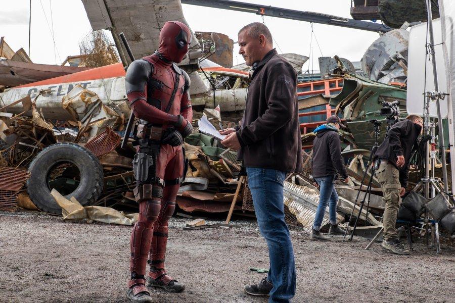 Deadpool z reżyserem filmu Timem Millerem