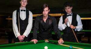 The Rack Pack - Steve Davis, Alex Higgins, Jimmy White