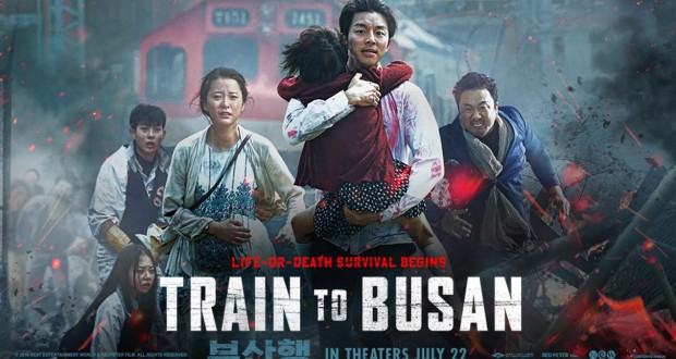 Train to Busan (2016), reż. Sang-ho Yeon.