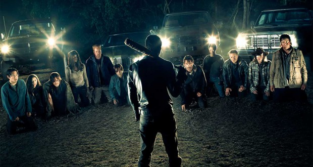 The Walking Dead 7. Parę słów o półfinale s7.