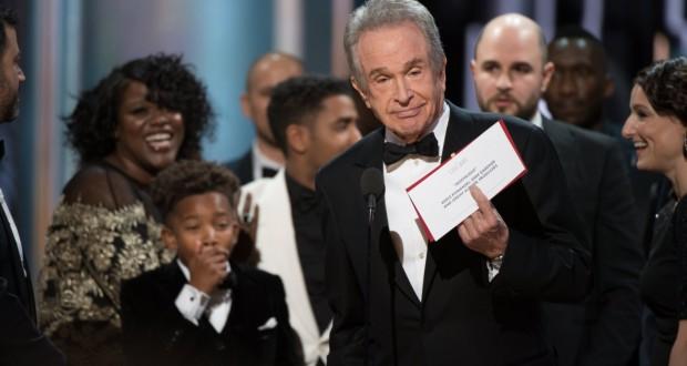 Oscary 2017 Warren Beatty pomyłka
