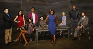 Bohaterowie serialu Sposób na morderstwo. W środku Viola Davis.
