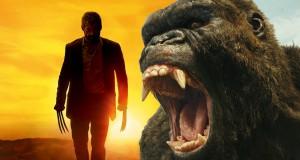 Filmowy marzec 2017 w ocenach. Logan, Kong: Wyspa czaszki i inne.