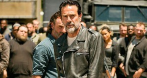 The Walking Dead s7e16 finał sezonu, Negan i Rick.