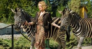 Azyl, The Zookeeper's Wife, reż. Niki Caro recenzja filmu, Jessica Chastain z zebrami