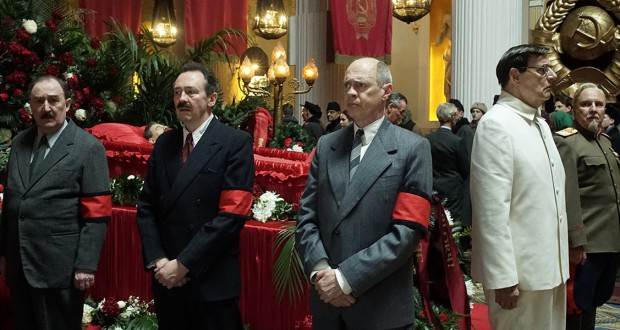 Prevues of coming attractions, odc. 196. The Death of Stalin (2017), reż. Armando Iannucci.