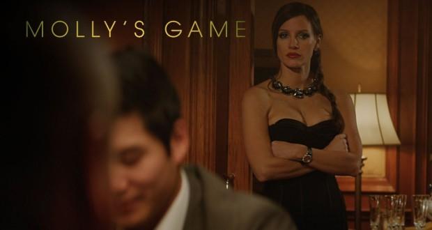 Gra o wszystko, Molly's Game (2017), reż. Aaron Sorkin.
