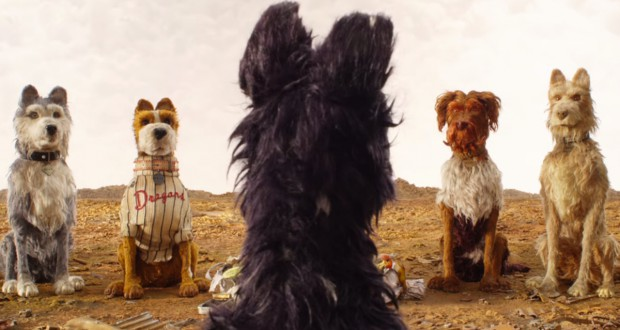 Premiery kinowe weekendu 20-22.04.2018. Wyspa psów, Isle of Dogs (2018), reż. Wes Anderson.