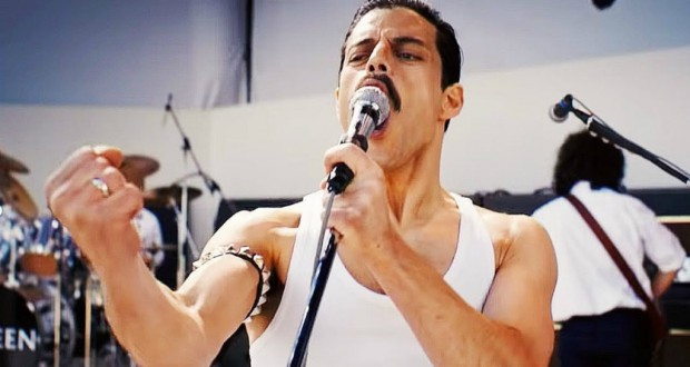 Przeciętne filmy 2018 roku. Bohemian Rhapsody.