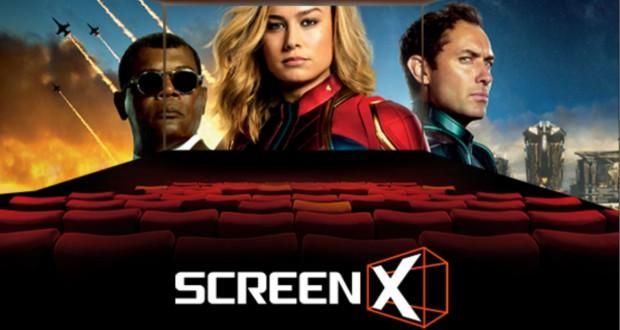 W Cinema City Mokotów rusza pierwsza sala kinowa ScreenX.