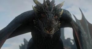Smok z Gry o tron.